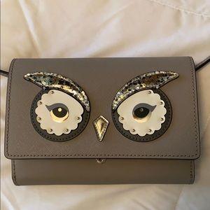 Kate spade owl crossbody bag